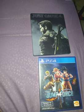 BD PS4 Jump Force & Just Cause 4 steelcase