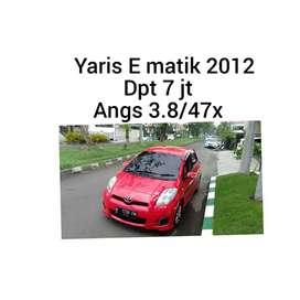 Toyota yaris E matik 2012