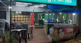 Running fast food restaurant for sale