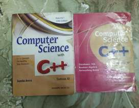 Computer Science in C++ for Class 12 both parts