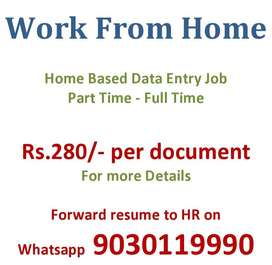 data entry projects, work from home based only. contact us for details