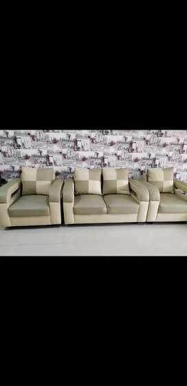 Kursi Sofa Bekas Minimalis 1 Set + Meja