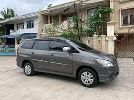 Kijang Innova G Luxury Bensin 2.0 2014 Captain Seat Mulus Jual Cepat!