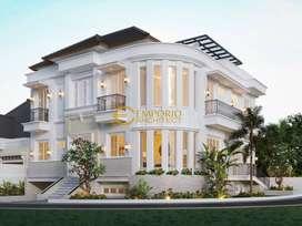 JASA ARSITEK Desain Rumah Mewah di Tangerang - Emporio Architect