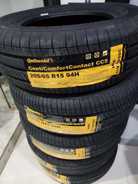 New Continental tyres for Innova 205/65/15
