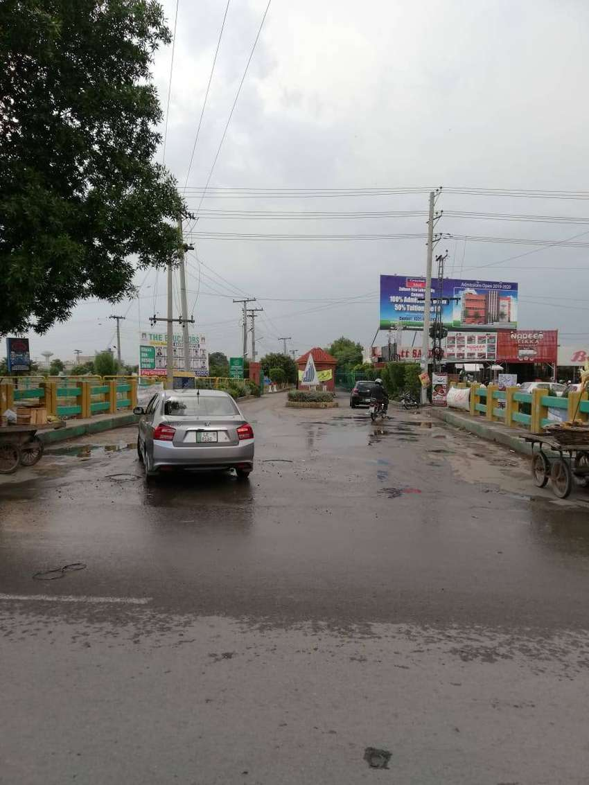 4 KANAL COMMERCIAL PLOT SALE FRONT OF BAHRIA TOWN LAHORE