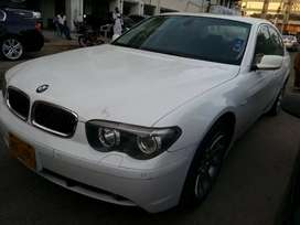 BMW 735i FOR SALE MINT CONDITION WHITE COLOR SUNROOF SPECIAL NO