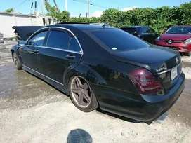 Mercedes Benz S class All spare parts avalible