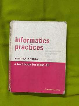 Informatics practices for Class Xll.