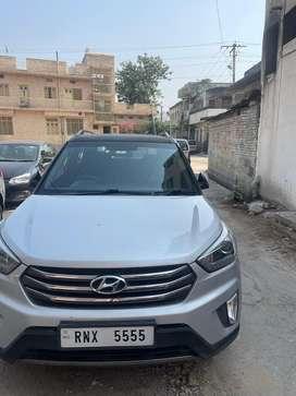 RNX-5555 VIP number Hyundai Creta 2015 Diesel Well Maintained