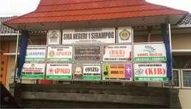 Neon Box PapanNama Reklame Stiker Branding Kaca Film Mall Hotel Kantor
