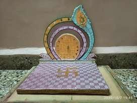 Handmade pooja mantap
