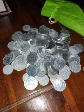 Koin Rp 5 dan Rp 10 KB 1970 1979