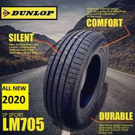 Dunlop LM705 Size 195/50 R16 Ban Mobil Fiesta RS Rio New Yaris All New