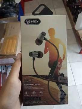 earphone headset bluetooth pinzy b7-bs tlp ada karet-suara oke
