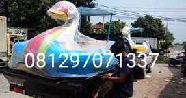 sepeda air fiberglass, wahana sepeda air sepeda goes
