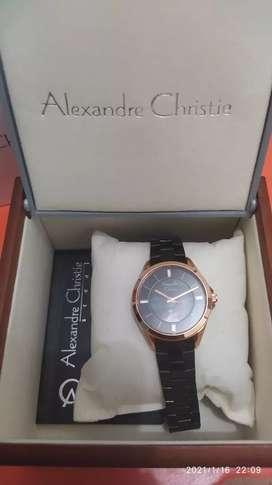 Di jual jam tangan wanita alexandre christie