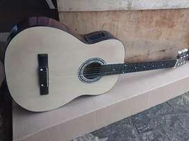 Gitar akustik elektrik new bulat jreng