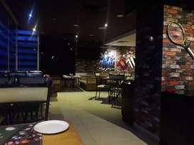 For restaurant 2 floors