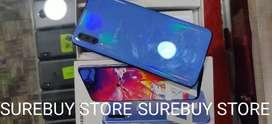 SAMSUNG A70(6/128GB) BLUE COLOUR..FIXXX PRICE