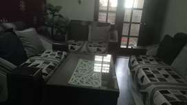Selling sofa set without center table
