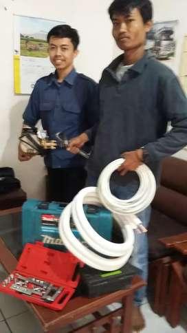 Jasa service AC Listrik Azzam Engineering Bandung