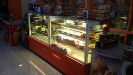 bakery counters brand new 8 feet long