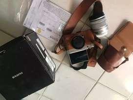 Fujifilm xa 10 free case leather dan strap