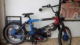 Jual honda astrea grend modifikasi sepeda BMX