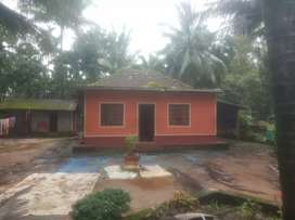 Sale land and house