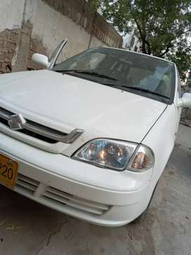 Suzuki cultus in used for sale model 2016.Only petrol tire new Ac .