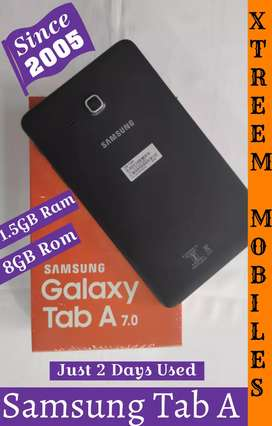 Samsung Tab A..Just 2 Days Used..