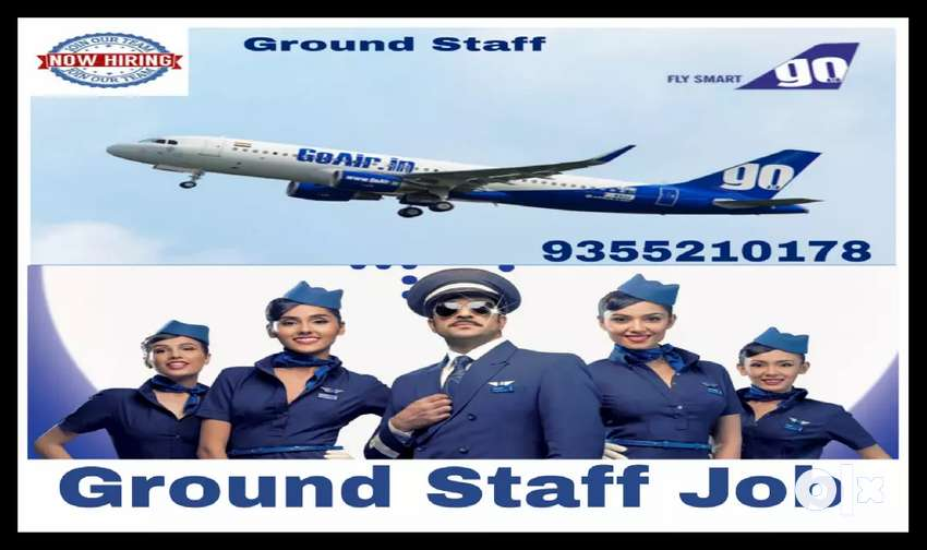 Hiring in Airport ground Staff 0