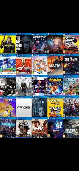 All Original Ps4 7.55 Games available at the Lowest price Guarantee