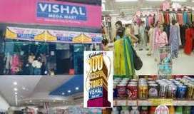 sales boys and sales girls are required in shopping mall