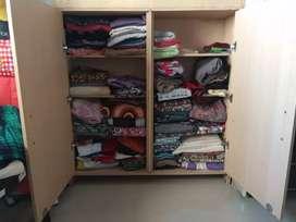 Cupboard with 8 shelfs