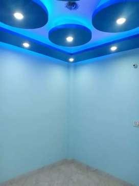 1Bhk nearby metro in uttam nagar with 90% bank loan newly built flat