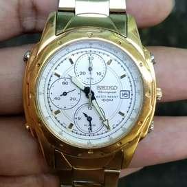 Seiko Chronograph Alarm 7T32 Original