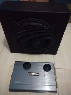Jual aja salon 12 in + power