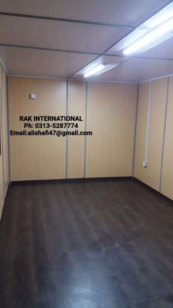 20 feet office and house containers porta cabin prefab house toilet.. 0