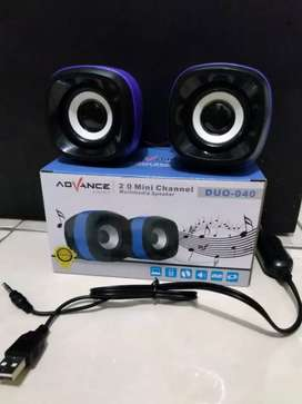 cus gratis antar spiker speaker laptop multimedia advance duo 040