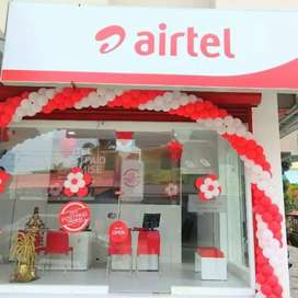 Need CRO staff to airtel showroom. At thrissur, Behind puthanpalli.