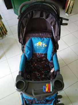 Stroller Baby pliko ( bisa nego sedikit )