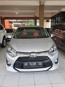 Toyota Agya 1.2 G manual KM 1.200 2017