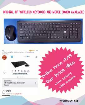 HP wireless Keyboard and Mouse combo