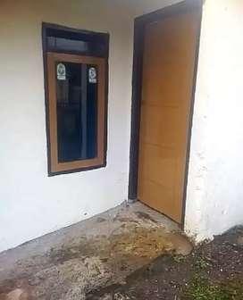 Dikontrakan sewa pertahun 2 kamar. Pasir Nanjung, Cimanggung, Sumedang