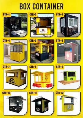 Booth Container gratis ongkir