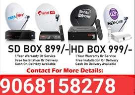 Tata sky HD Airtel Videocon Dish TV