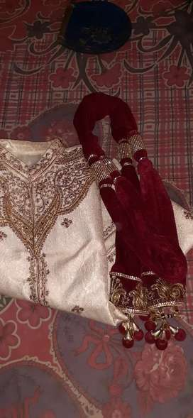 Wedding sherwani suit for men Medium size