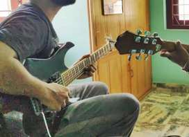 Guitar Home Tuition Class Available